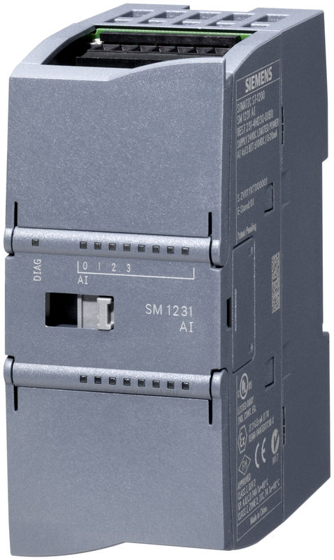Модуль подключения термосопротивлений SM 1231 RTD 4xAI RTD, Pt10/50/100/200/500/1000, Ni100/120/200/500/1000, Cu10/50/100, LG-Ni